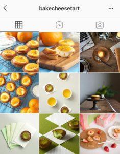 Instagram bakecheesetart unity account