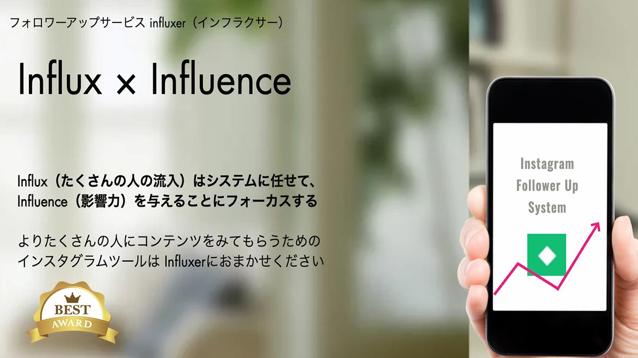 influxerバナー広告